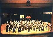 1994年のジョージ・ワシントン・ハイスクールでの演奏会